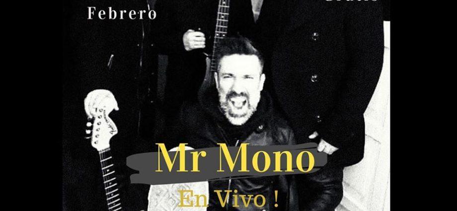 Rock con Mr. Mono