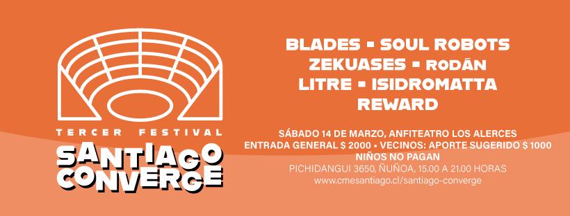 Festival Santiago Converge
